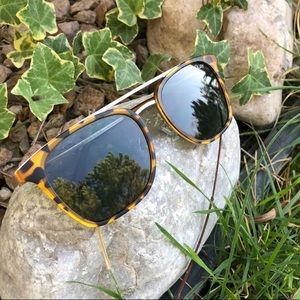 Tortoise shell Quay sunglasses
